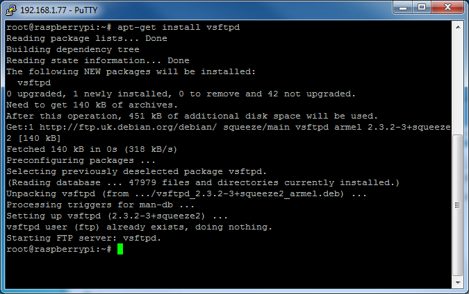 Picture of Install an FTP Server