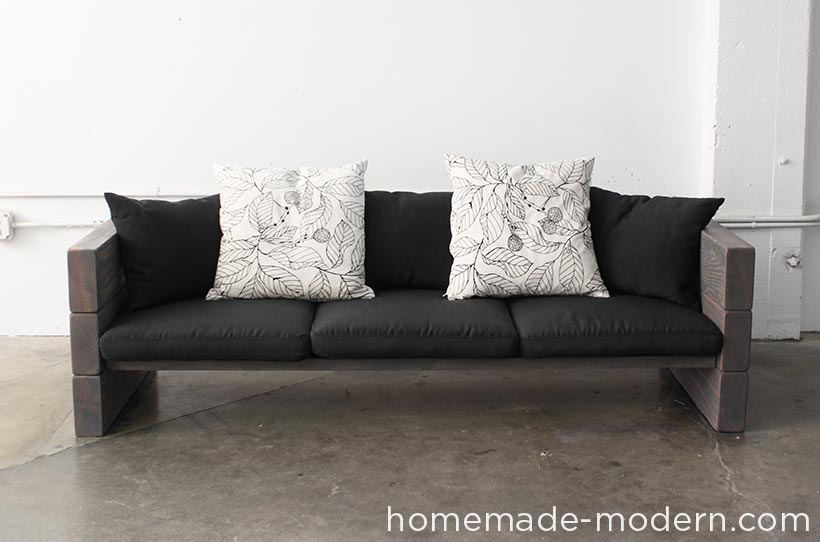 Picture of Done! & HomeMade Modern DIY Outdoor Sofa: 12 Steps (with Pictures)