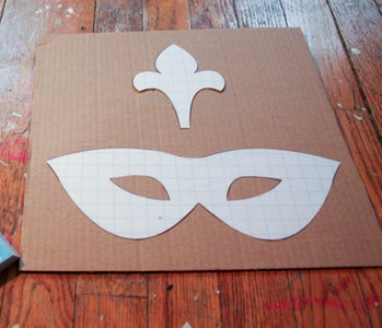Cut Images on Cardboard