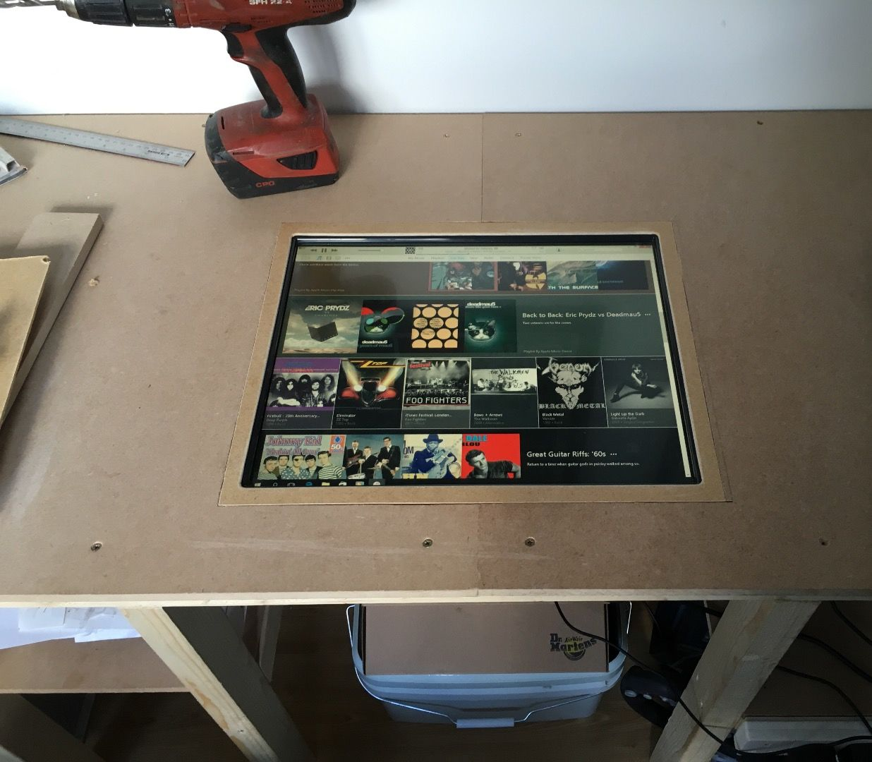 Picture of Make a Nice Trim Panel to Hide the Edges of the Monitor