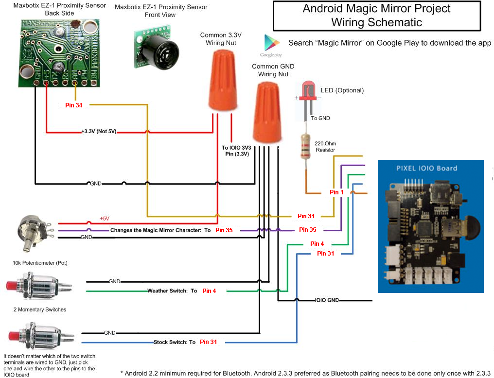 Picture of Custom Wiring Option