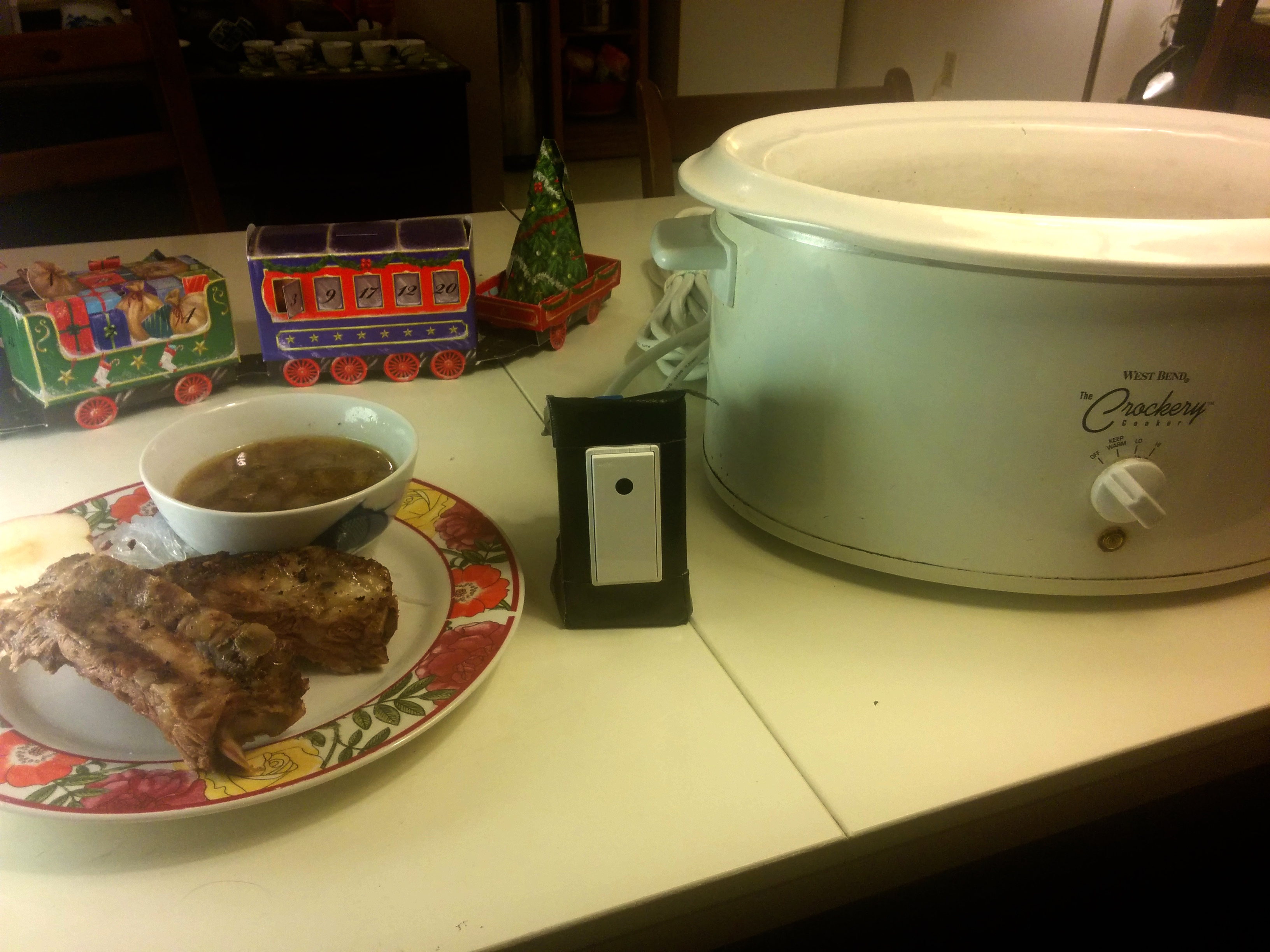 Picture of Cell Phone Controlled Crock Pot