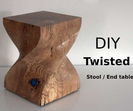 Twisted Stool / End Table