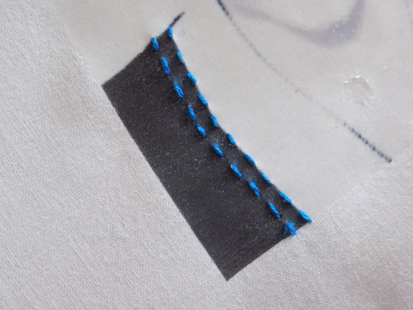 Picture of Woven Running Stitch