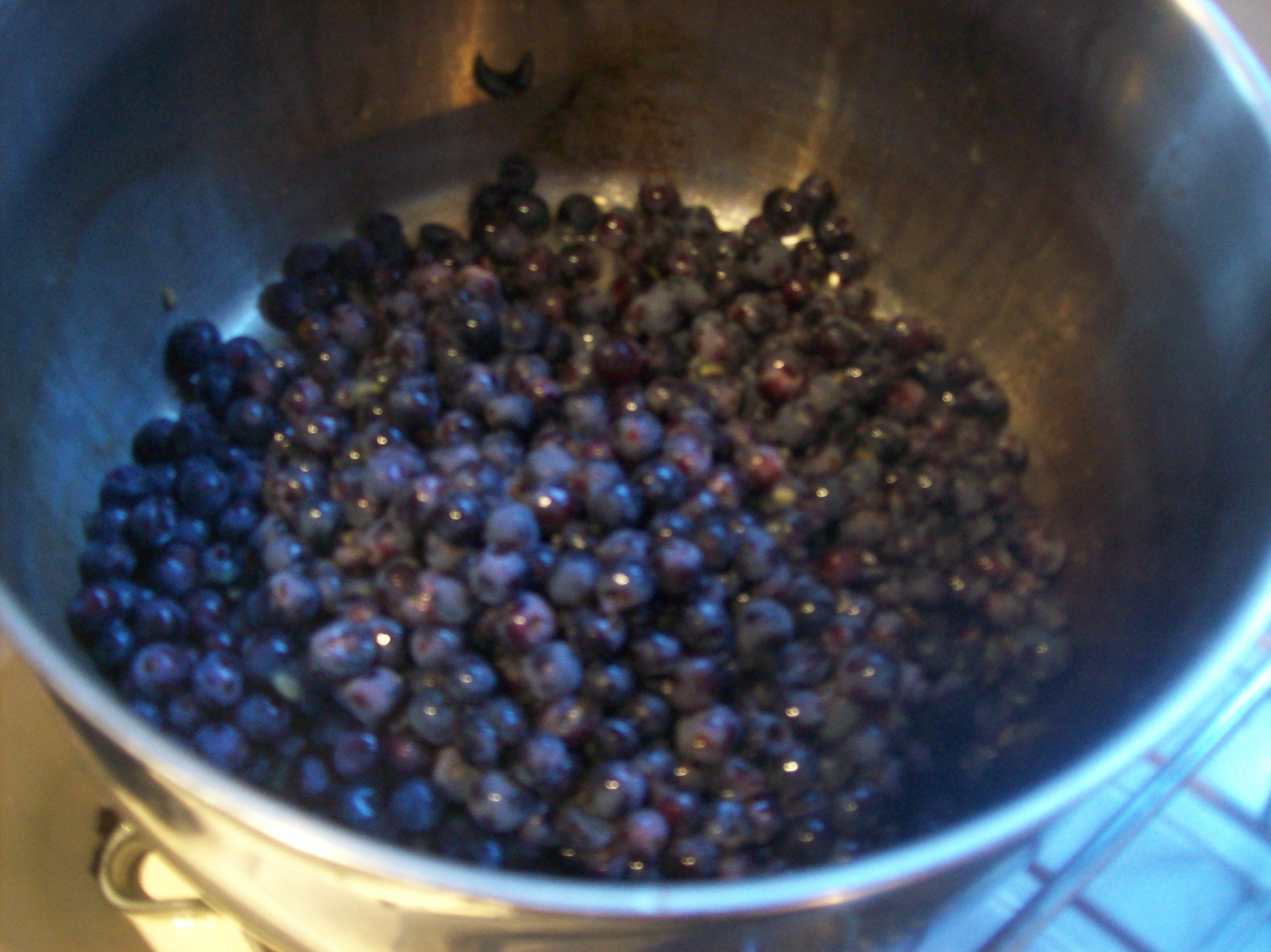 Picture of Wash and De-stem the Grapes