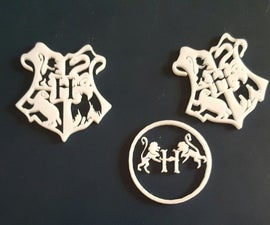 Laser Cut Harry Potter  Symbols