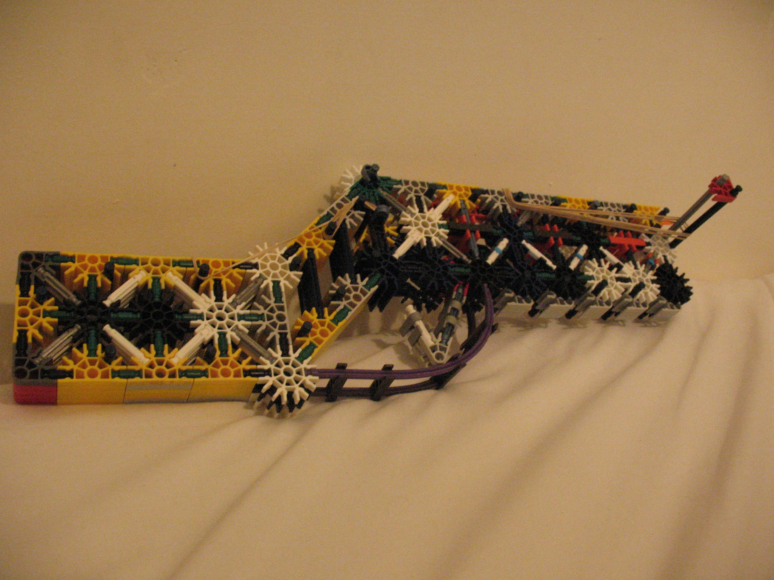 Picture of Powerful and Accurate Knex Crossbow