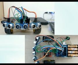 Obstacle Detection Robot Using Three Ultrasonic Sensors and Arduino UNO