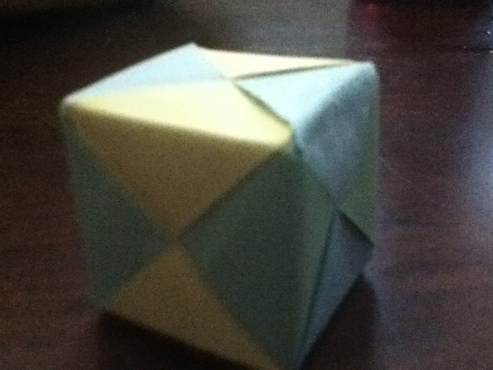 How To Make an Origami Magic Rose Cube (Valerie Vann) - YouTube   720x960