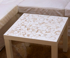 Coffee-Stained Coffee Table