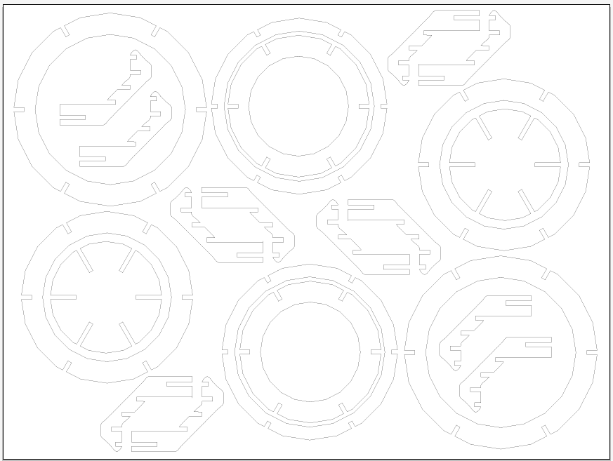 Picture of Put All the Bowl Pieces Into One Illustrator File