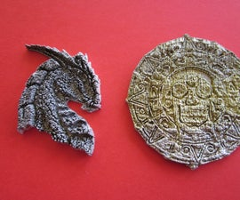 Laser-cutting an Image to Make Moulds for Pewter Casting