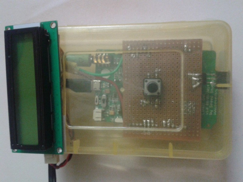 Picture of Boxing the Circuit and Sensor