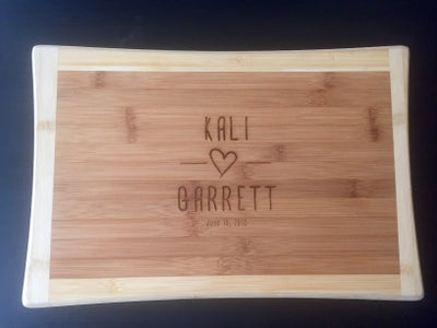 Engrave the Cutting Board