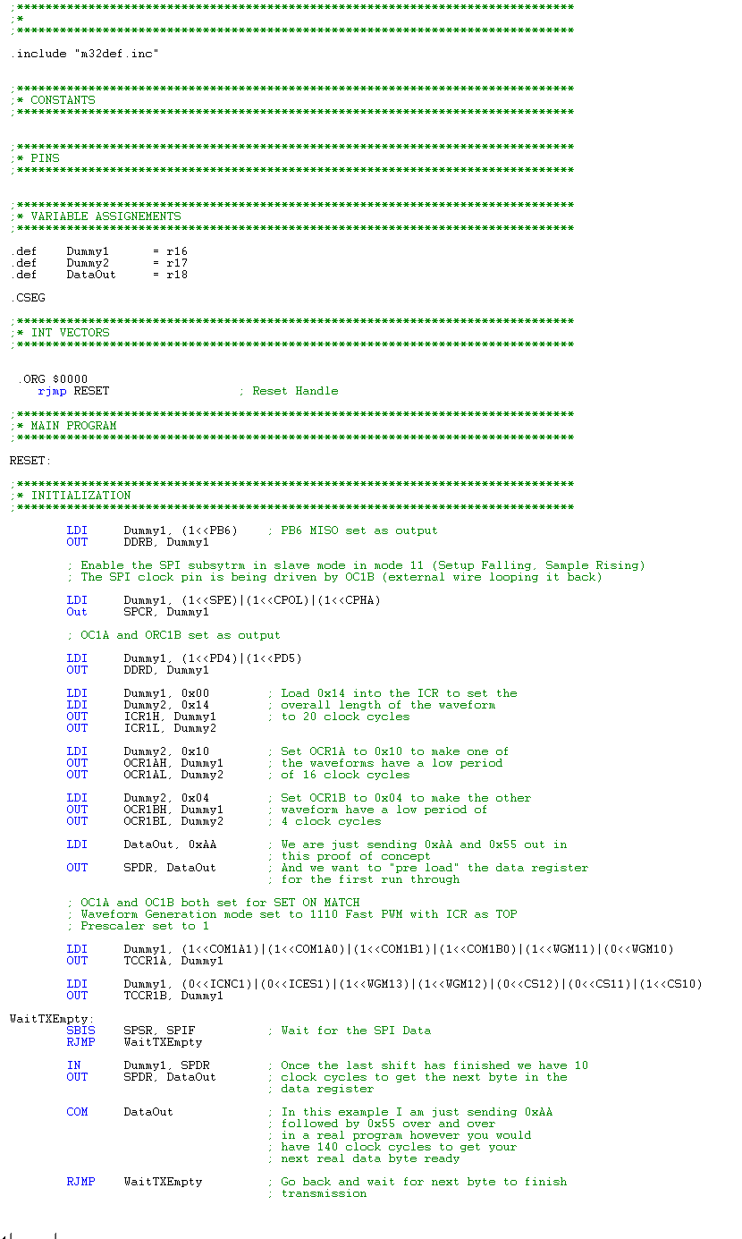 Picture of Using TOC1A/B and SPI With a 74XX IC