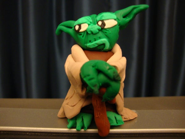 Mini Sculpey Jedi Master Yoda