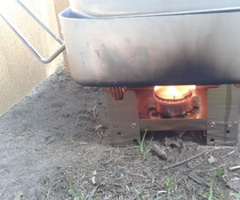 A 'T'light As Camp Stove Fuel