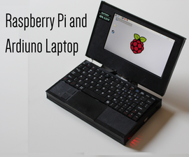 Raspberry Pi and Arduino Laptop