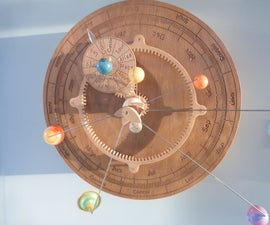 Wooden Orrery