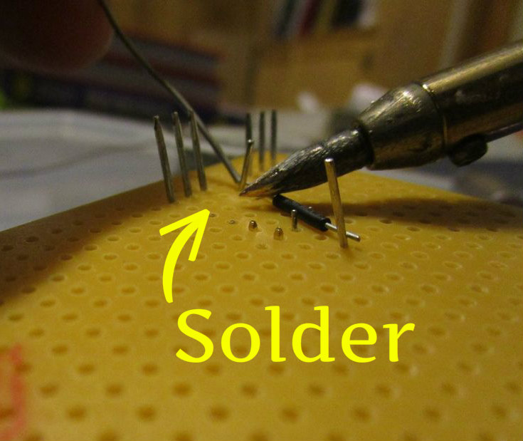 Picture of Solder the Components