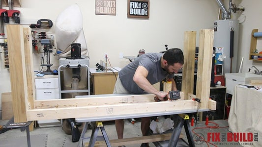 Build the Legs and Aprons