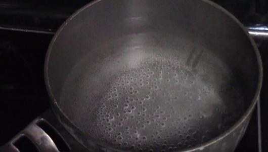 Boil the Vinegar