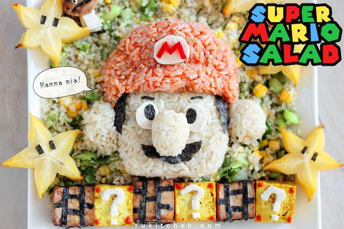 Picture of Super Mario Vegan Salad