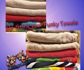 De-stink Funky Towels
