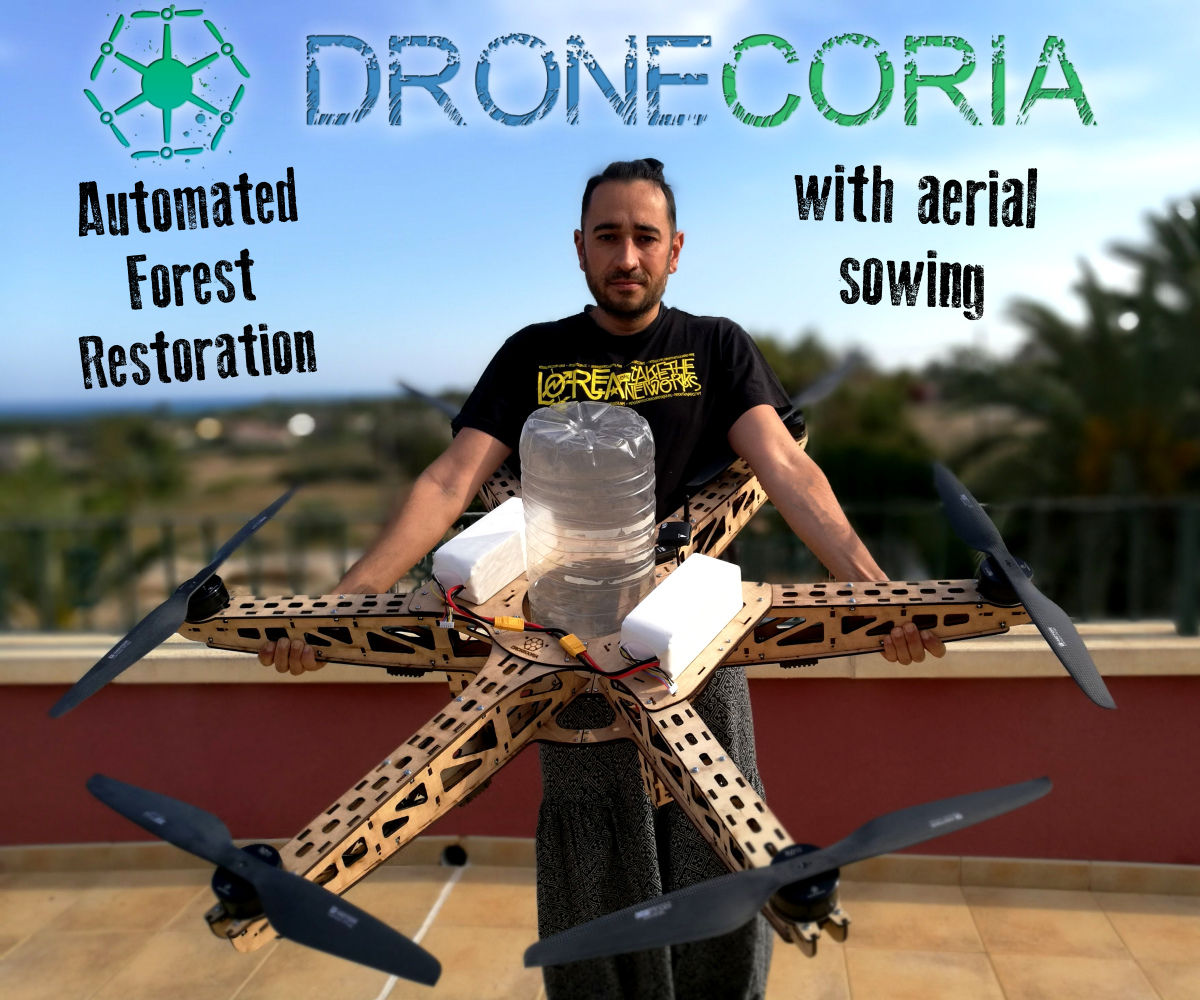 Dronecoria: Drone for Forest Restoration: 7 Steps (with