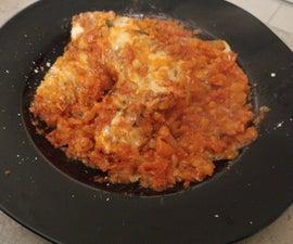Chicken Parmesan (Enhanced Tomato Sauce)