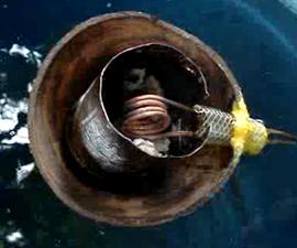 A Coconut Pop-Pop Boat