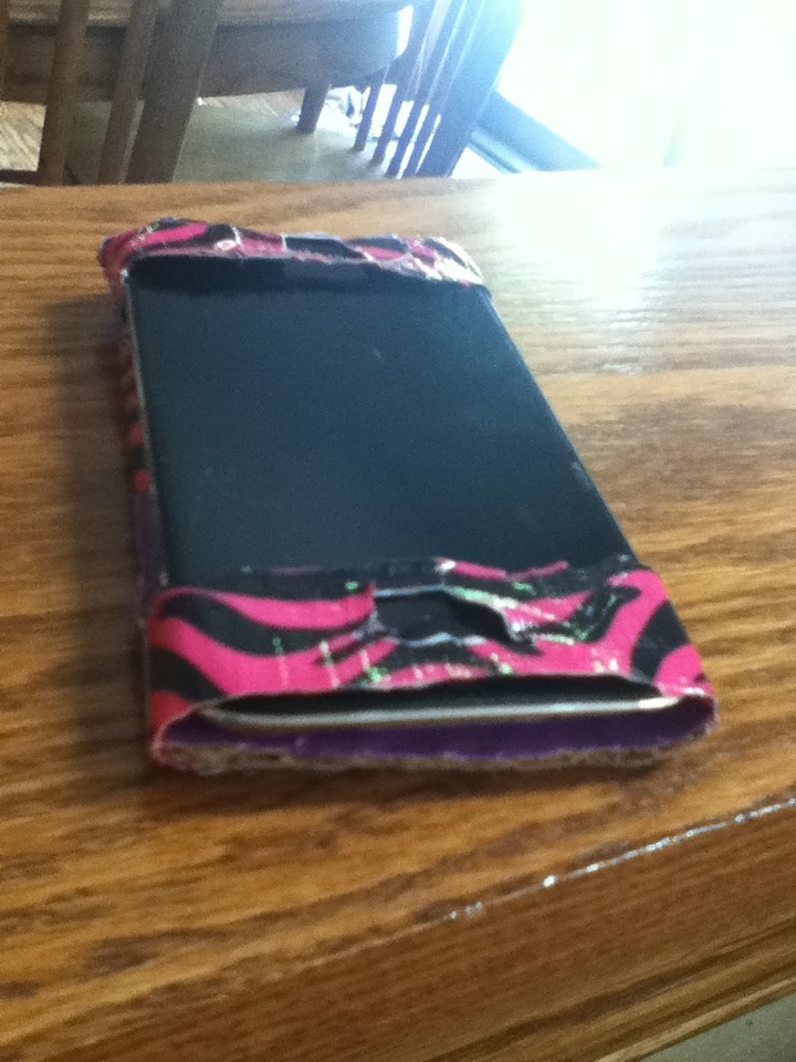 Picture of Duct Tape IPod Case!!!!