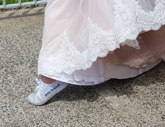 Picture of How to Make Your Own Wedding Sneakers
