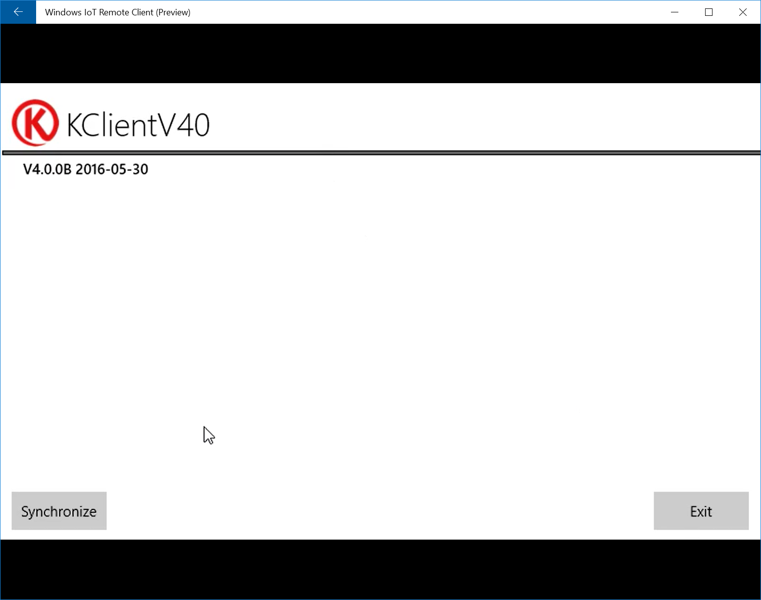 Picture of Install KClient