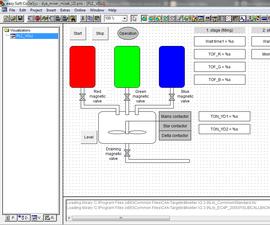 Dye Mixer Plc Program/simulation