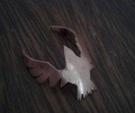 Bird Copper Ring From Scratch