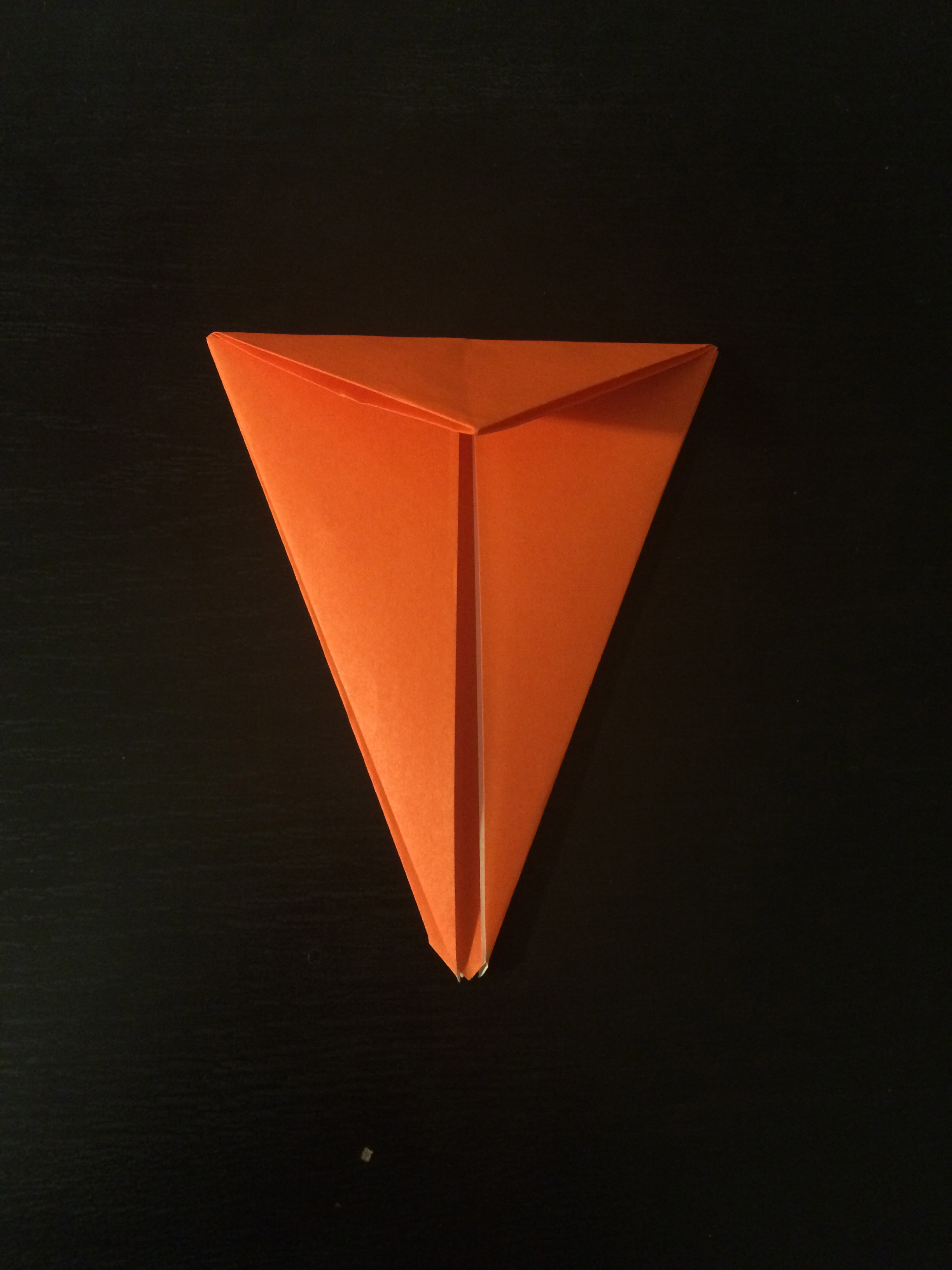 Picture of Fold the Top Triangle Down.