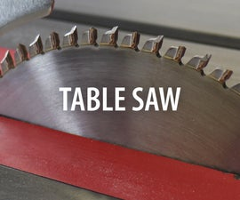 Table Saw Class