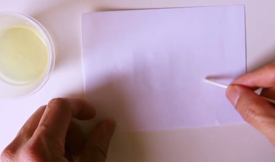 Picture of Step 3: Write Invisible Ink on Paper