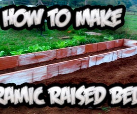 How To Make a Ceramic Raised Bed