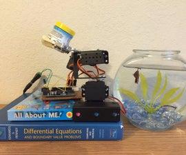 Robotic Arm Fish Feeder