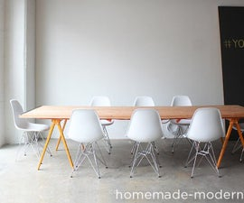 HomeMade Modern DIY Conference Table