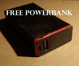 TicTac PowerPack: an Ecologically Friendly USB Powerbank From Free From Old Laptop Batteries