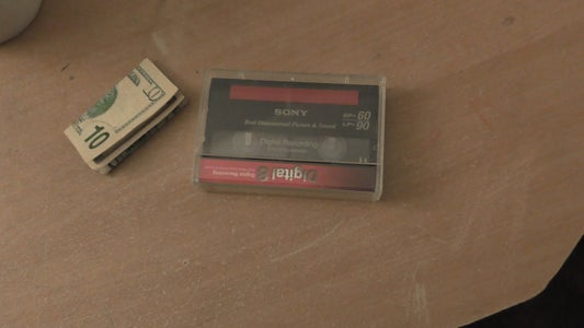Place #25:  Inside an Old Cassette Case