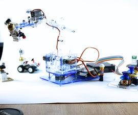 MeArm V1.1 - Tiny Open Source Robot Arm