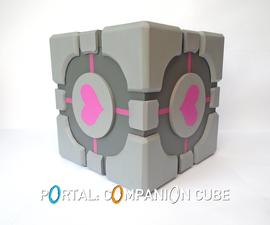Portal: Companion Cube Storage Box!