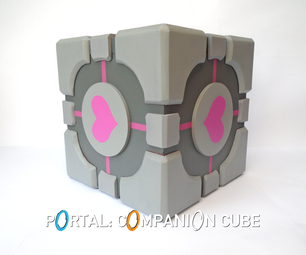 Portal: Companion Cube Storage Box