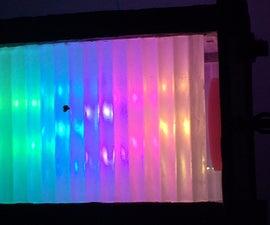Rainbow Pastel Garden Lamp