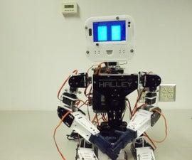 Halley: Ambassador Robot 001