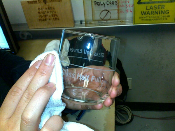 Laser Engraved Drinking Glasses